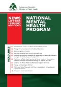 The Third Newsletter of the National Mental Health Program